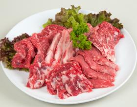 黒毛牛カルビ焼肉